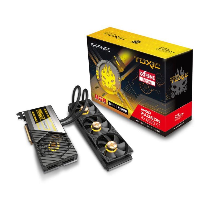 Видеокарта Sapphire Toxic Radeon RX 6900 XT Extreme Edition 2525MHz PCI-E 4.0 16384Mb 16000MHz 256 bit 3xDP HDMI 11308-08-20G Выгодный набор + серт. 200Р!!!