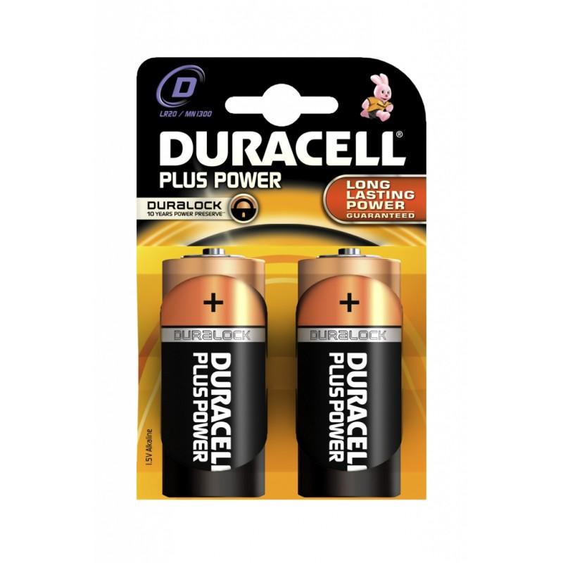Батарейка D - Duracell Alkaline LR20-MN1300 (2 штуки)