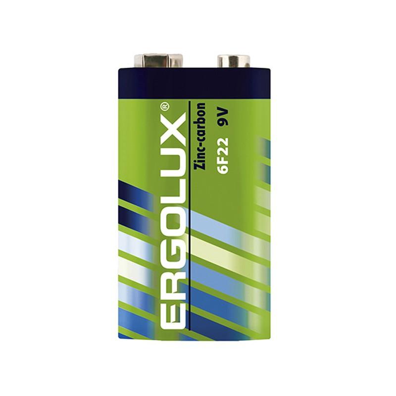 Батарейка Ergolux 6F22 SR1 (1 штука) 12443