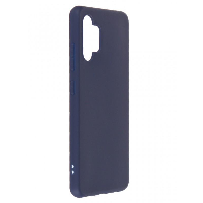 Чехол Neypo для Samsung Galaxy A32 4G 2021 Soft Matte Silicone Dark Blue NST21706