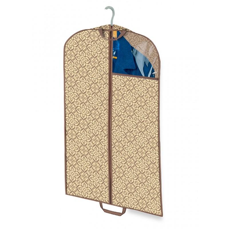 Чехол для хранения верхней одежды Гелеос Миндаль 100x60cm МНД_07