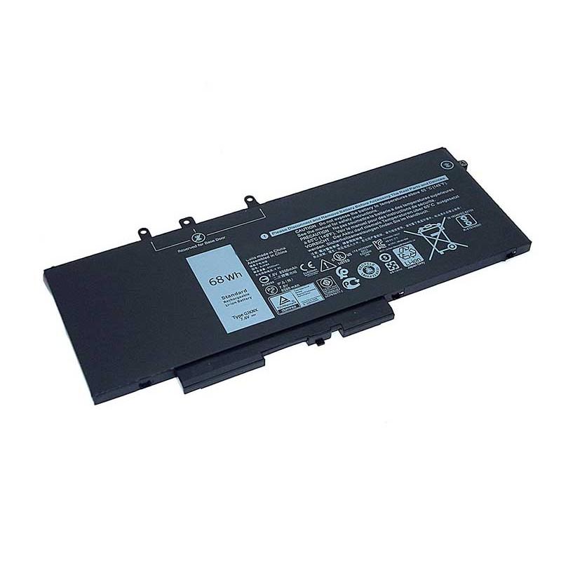 Аккумулятор Vbparts для Dell Latitude 15 3520 E5480 5480 DV9NT 7.6V 68Wh 8500mAh 077497