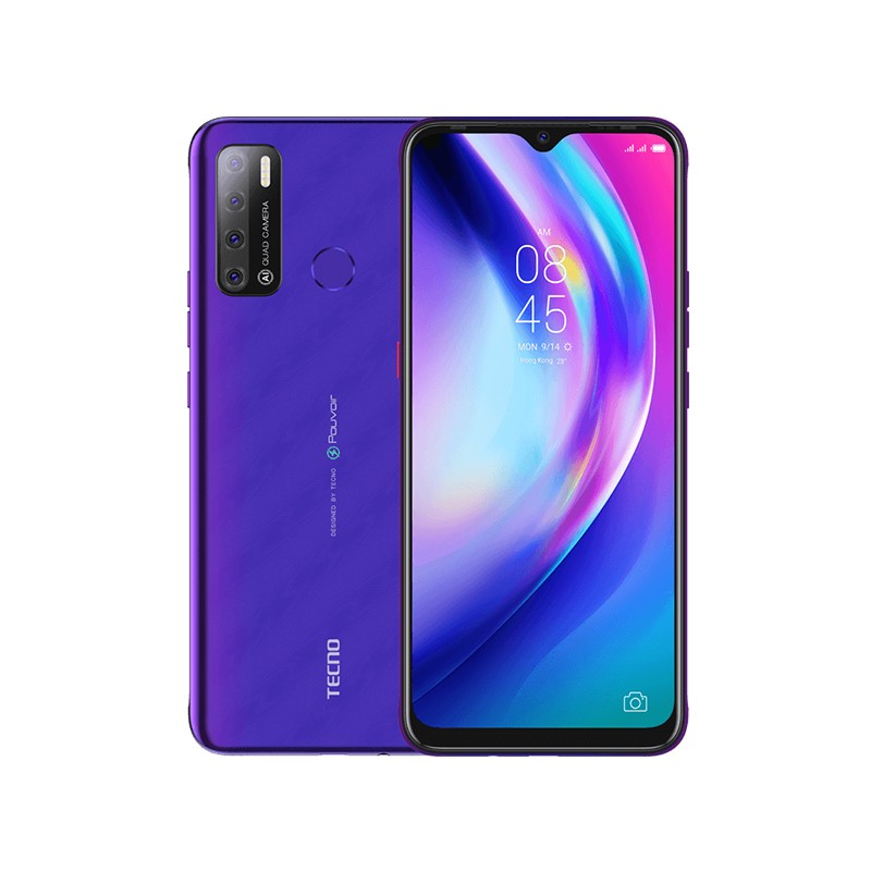 Сотовый телефон Tecno Pouvoir 4 Fascinating Purple