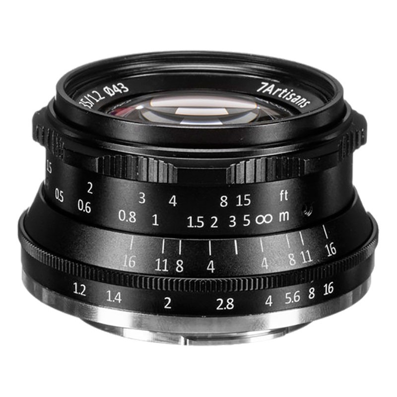 Объектив 7Artisans X-Mount 35 mm f/1.2 Black 18000