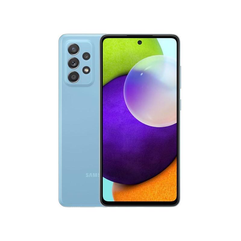 Сотовый телефон Samsung SM-A525F Galaxy A52 4/128Gb Blue Выгодный набор для Selfie + серт. 200Р!!!