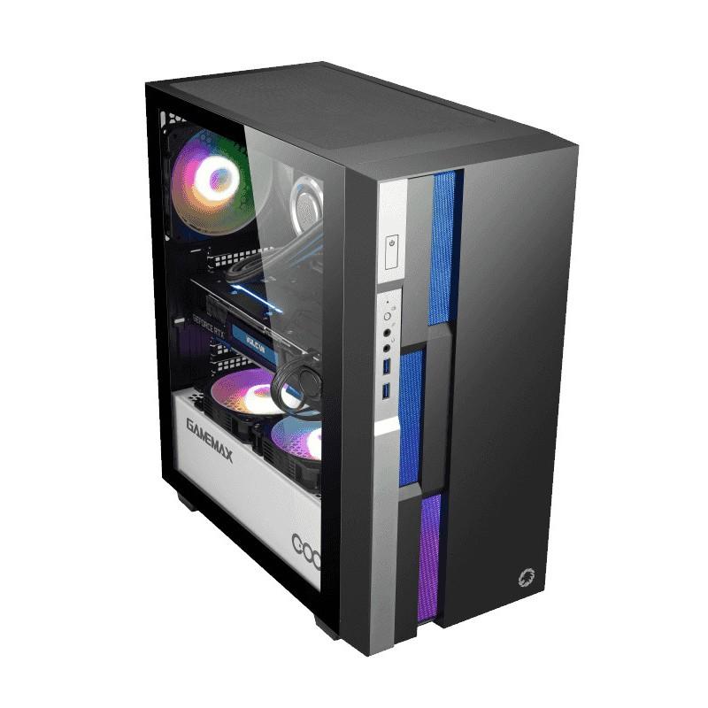 Корпус GameMax Brufen C3 BW Black-White