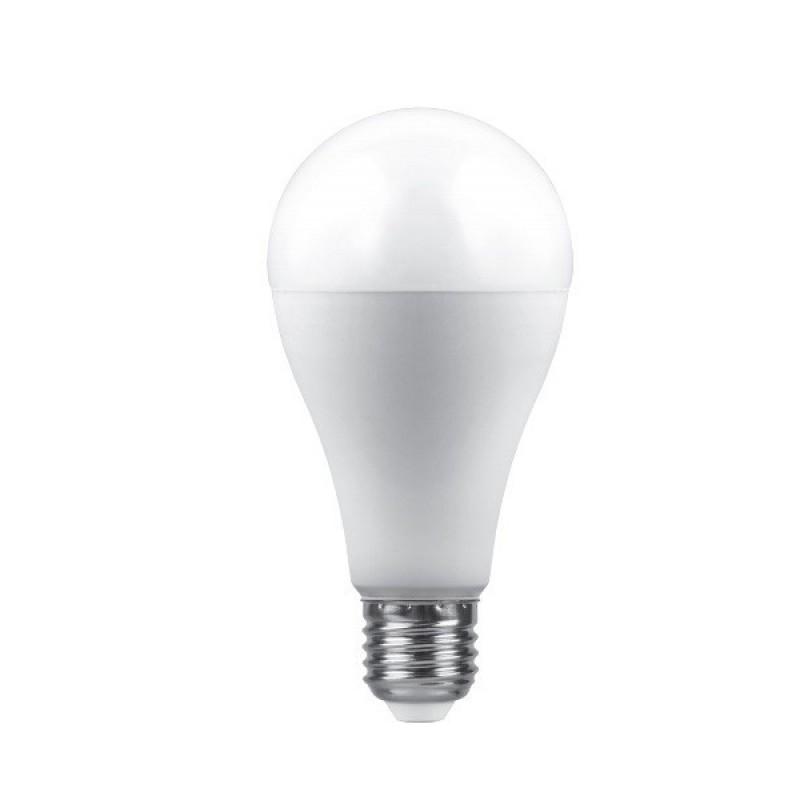 Лампочка Saffit A65 E27 25W 230V 2700K 2150Lm Warm Light SBA6525 29299 / 55087
