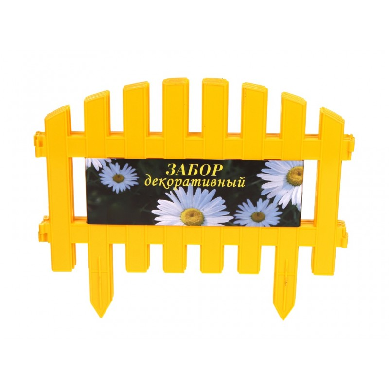 Забор Агротема А Декоративный №2 Yellow 24325