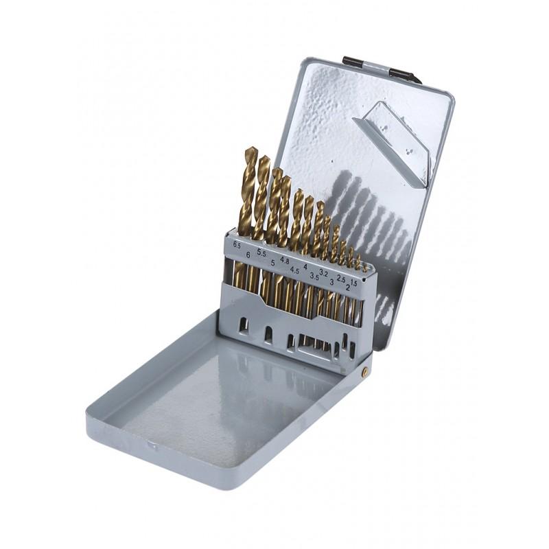 Набор сверл Thorvik по металлу 1.5-6.5mm 13шт TDBS13