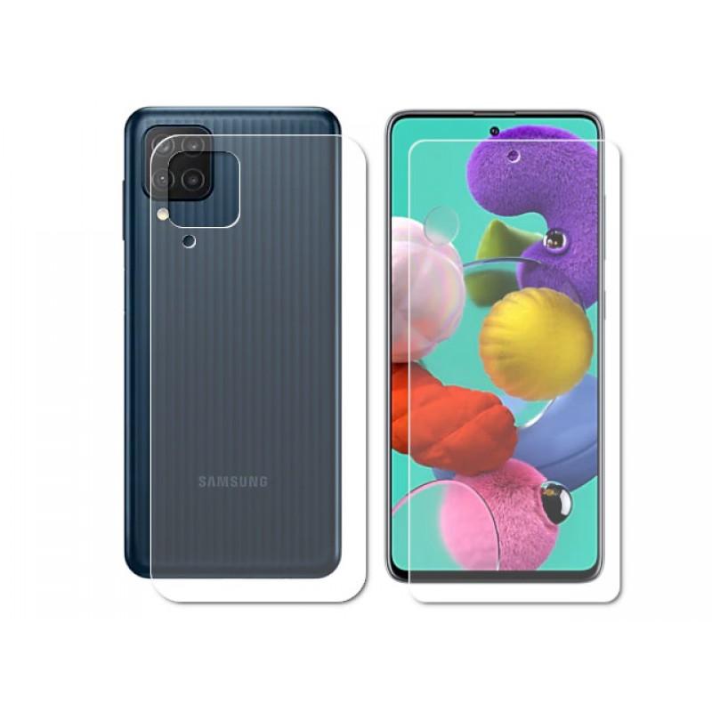 Гидрогелевая пленка LuxCase для Samsung Galaxy F62 0.14mm Front and Back Matte 86364