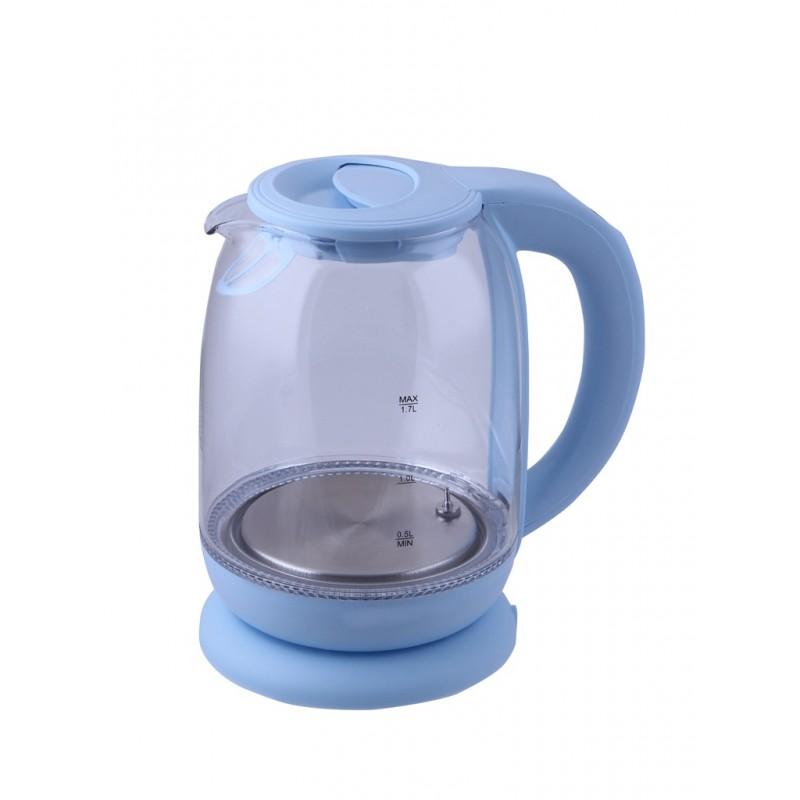 Чайник Kitfort KT-640-1 1.7L Light Blue