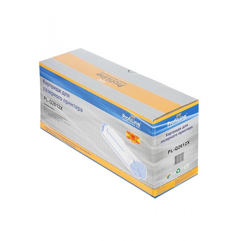Картридж ProfiLine PL-Q2612X for HP LJ1010/1012/1015/1018/1020/1022/3015/3020/3030/3050/3052/3055/M1005/M1005MFP/M1319MFP Series/Canon LBP2900/3000 3000 копий
