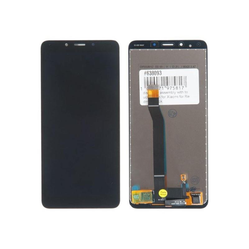 Дисплей RocknParts для Xiaomi Redmi 6 / 6A в сборе с тачскрином Black 638093