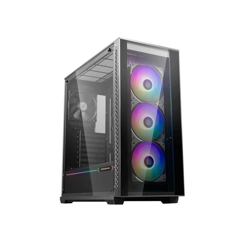 Корпус Deepcool Matrexx 70 ADD-RGB 3F Black ATX Без БП
