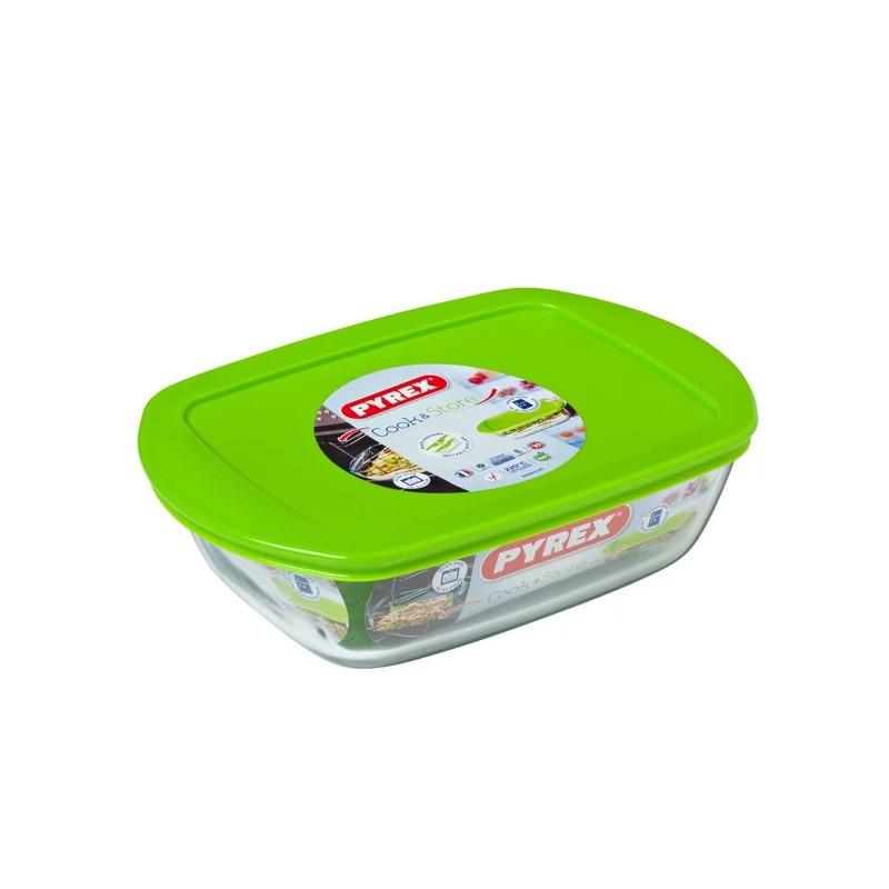Блюдо с крышкой Pyrex Cook&Store 23x15x6.5cm 215P000/5046