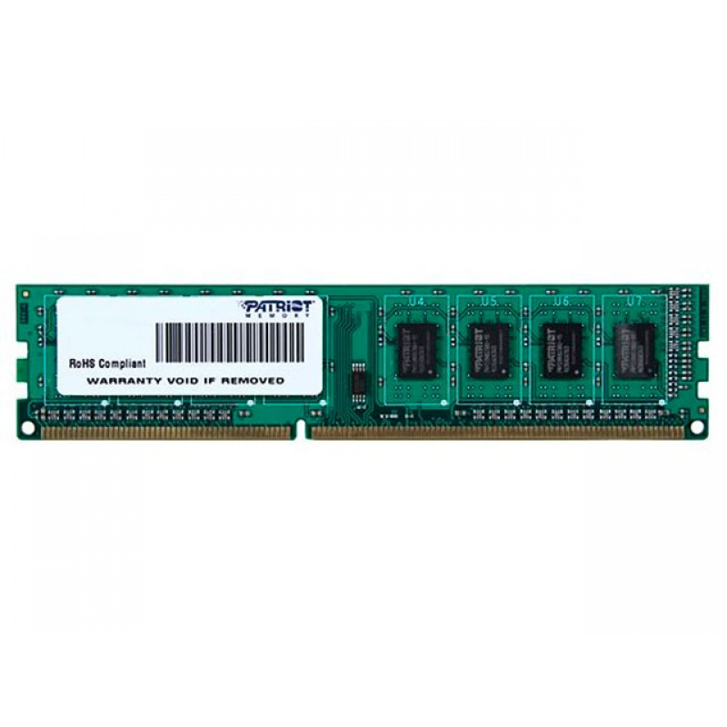 Модуль памяти Patriot Memory Signature DDR3 DIMM 1600Mhz PC3-12800 CL11 - 4Gb PSD34G160081