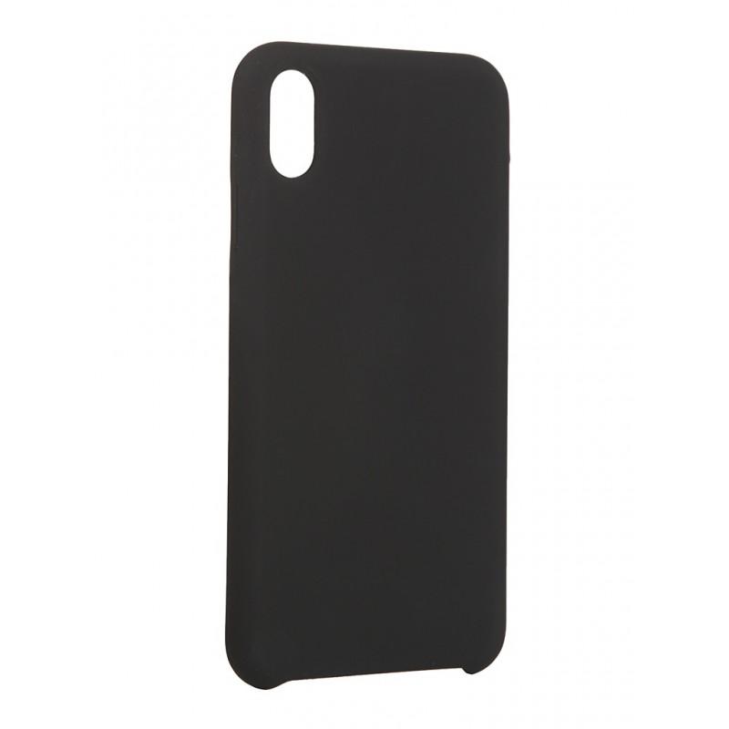 Чехол LuxCase для Apple iPhone XS Max Soft Touch Premium Black 69016