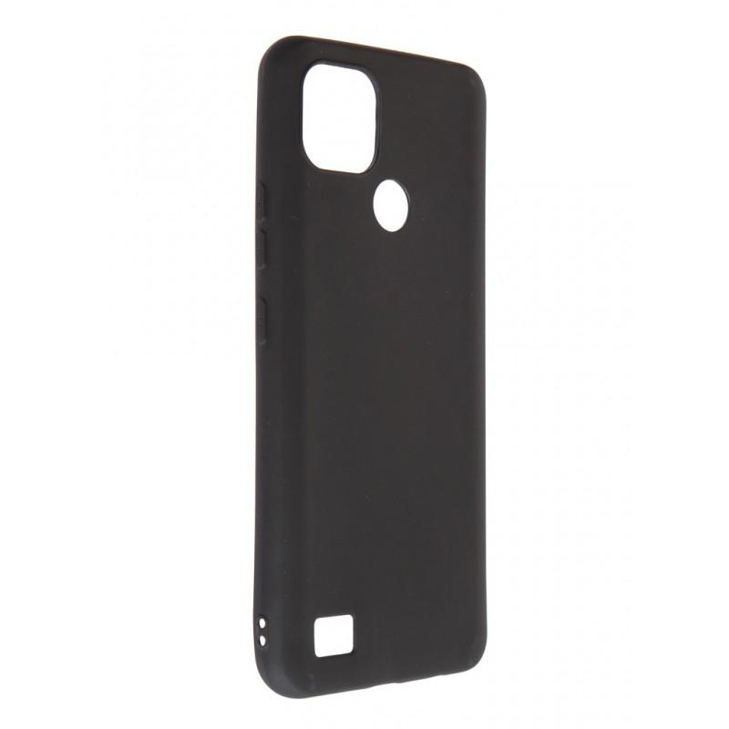 Чехол Zibelino для Realme C21 Soft Matte Black ZSM-RLM-C21-BLK