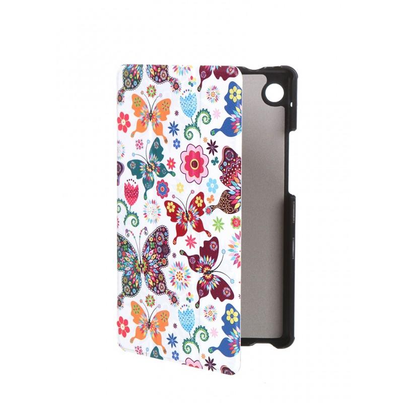 Чехол Zibelino для Huawei MatePad T8 8.0 Tablet с магнитом Butterflies ZT-HUA-T8-8.0-PBTF