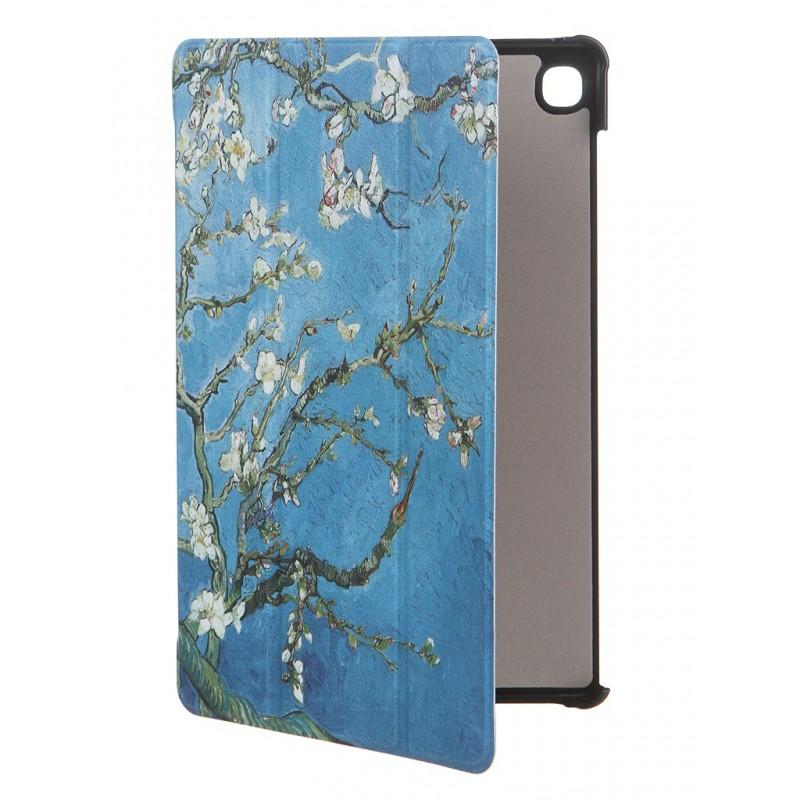 Чехол Zibelino для Samsung Galaxy Tab S6 Lite 10.4 с магнитом Sakura ZT-SAM-P610-PSKR