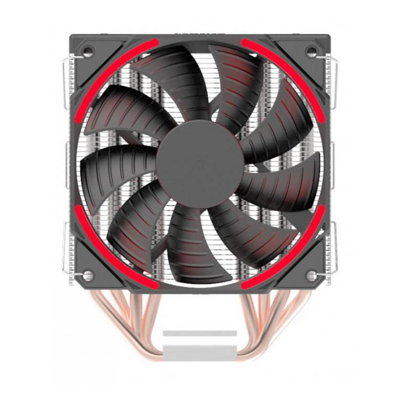 Кулер Aardwolf Proxima 460 Red AP_460_120R (Intel S775/115X/1366/20XX AMD AM2/AM3/AM4)
