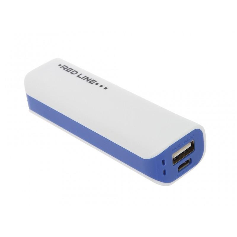 Внешний аккумулятор Red Line R-3000 Power Bank 3000mAh Blue УТ000008704