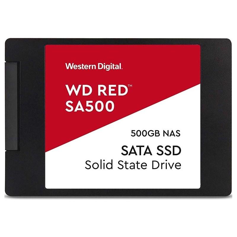 Твердотельный накопитель Western Digital 500Gb SA500 Red SSD WDS500G1R0A Выгодный набор + серт. 200Р!!!