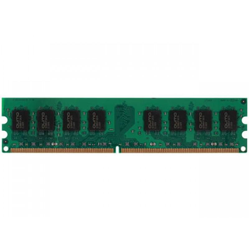Модуль памяти Qumo 2GB DDR2 800MHz DIMM 240pin CL6 QUM2U-2G800T6