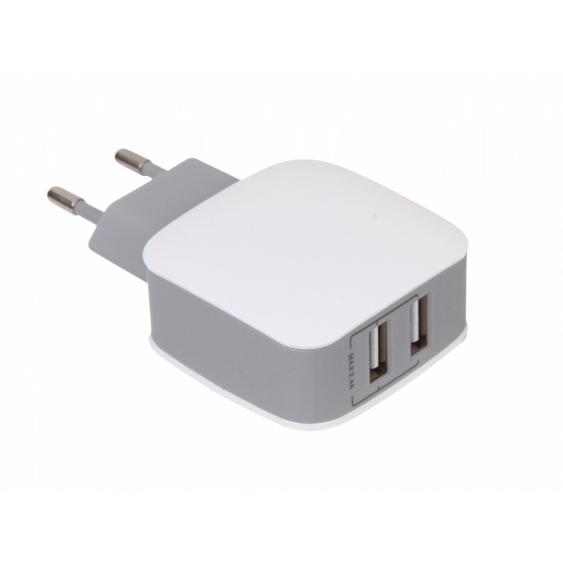 Зарядное устройство Baseus Letour Dual USB Charger ZCL2B-B02