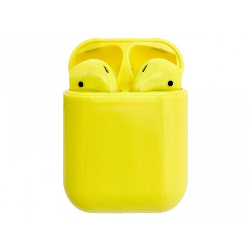 Наушники Activ TWS I12 Yellow 104266