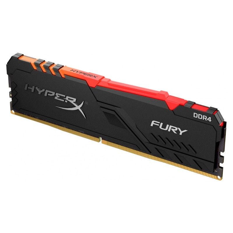Модуль памяти HyperX Fury RGB DDR4 DIMM 3600Mhz PC-28800 CL17 - 8Gb HX436C17FB3A/8