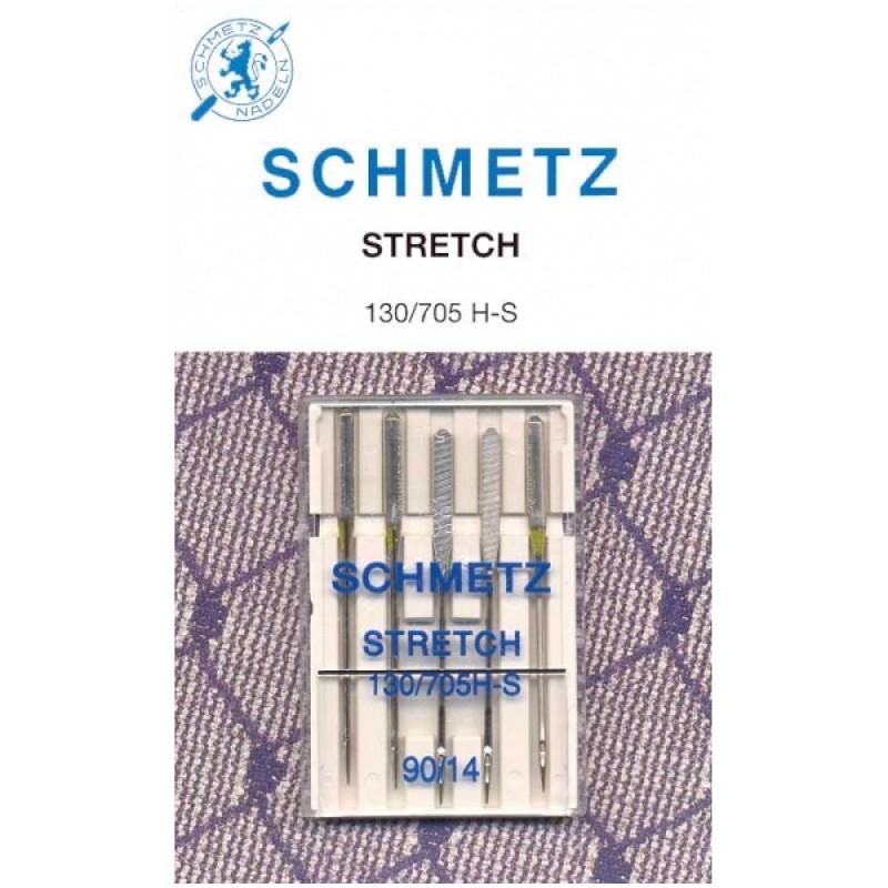 Набор игл для эластичных материалов Schmetz №90 130/705H-S 5шт