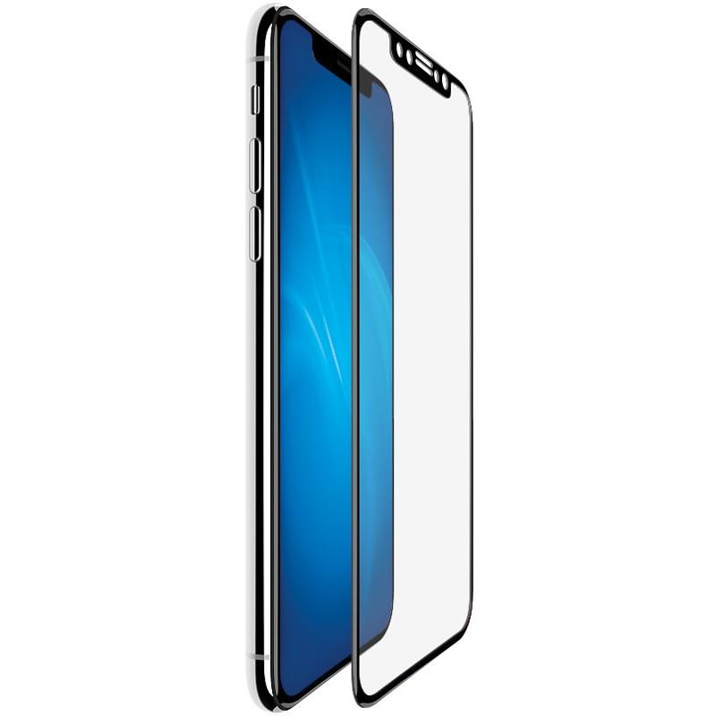 Защитное стекло LuxCase для APPLE iPhone XS Max3D Full Glue Black Frame 83011