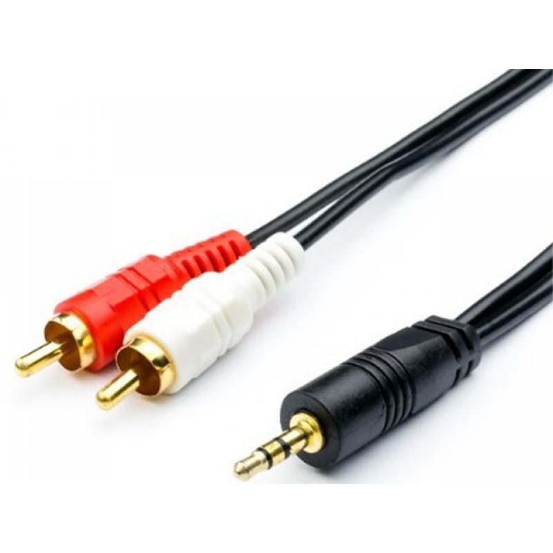 Аксессуар ATcom Audio DC3.5 - 2RCA Mini Jack M 3m АТ10708