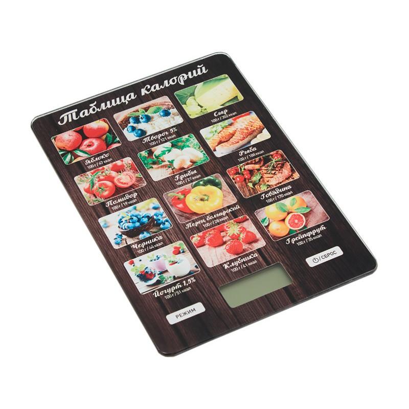 Весы Аксинья КС-6515 Таблица калорий