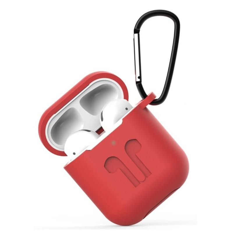 Чехол Eva для APPLE AirPods 1/2 Red CBAP01R