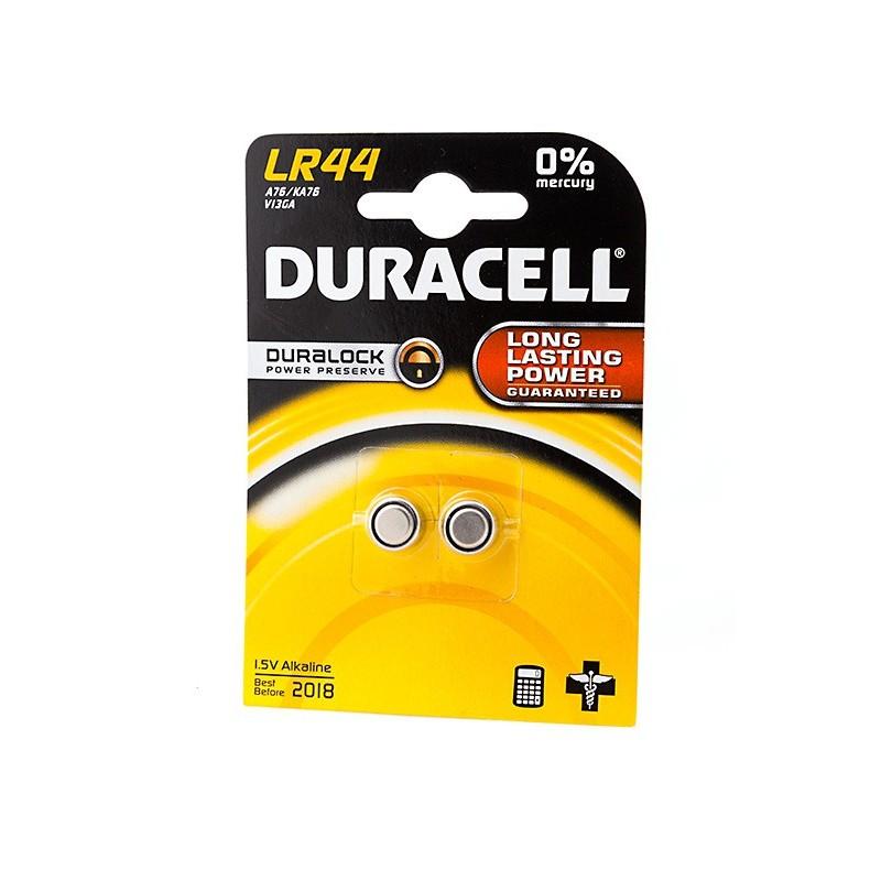 Батарейка Duracell LR44 BL2 (2 штуки)