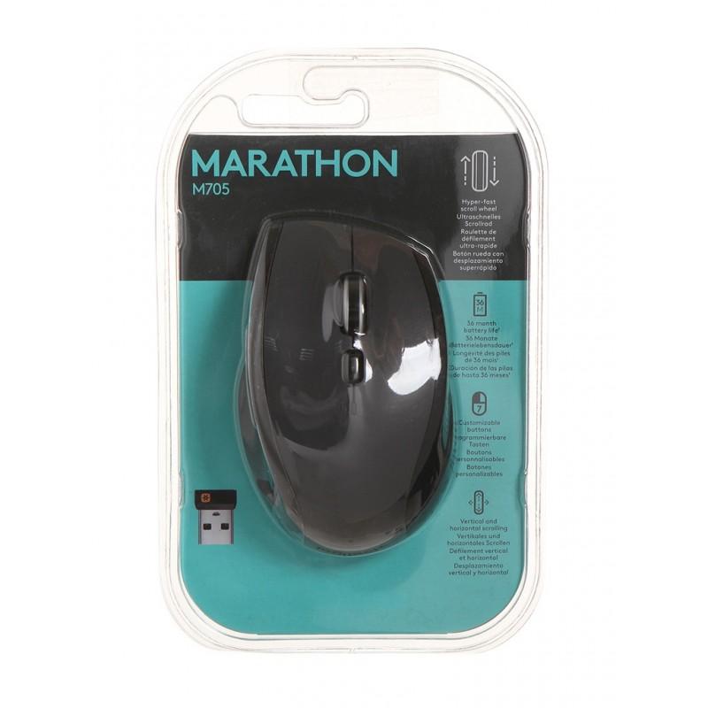 Мышь Logitech Marathon Mouse M705 Black USB