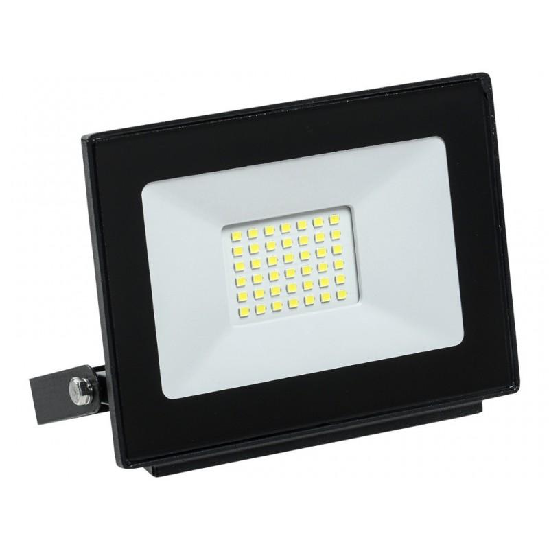 Прожектор IEK СДО 06-30 IP65 Black LPDO601-30-65-K02