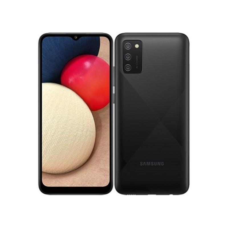 Сотовый телефон Samsung SM-A025F Galaxy A02S 3/32Gb Black & Wireless Headphones Выгодный набор + серт. 200Р!!!