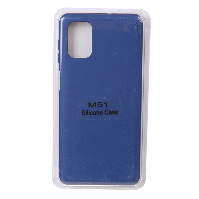 Чехол Innovation для Samsung Galaxy M51 Soft Inside Blue 18983