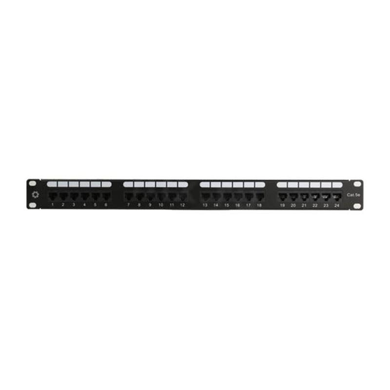 Коммутационная панель Патч-панель 5bites PPU55-03 UTP / 5E / 24P / Krone / 110 / Dual Idc / 1U / 19