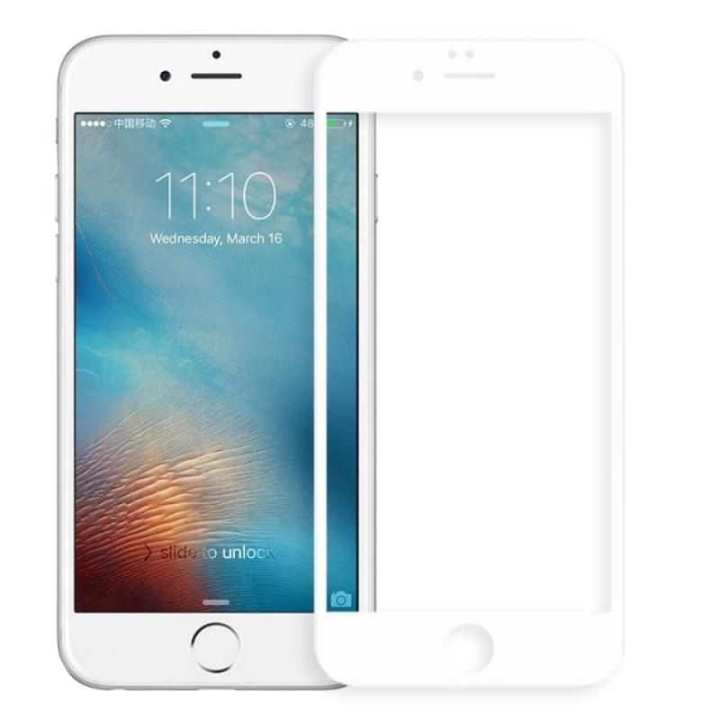 Защитное стекло Red Line для APPLE iPhone 7 Plus / 8 Plus Full Screen 3D Tempered Glass White УТ000014074