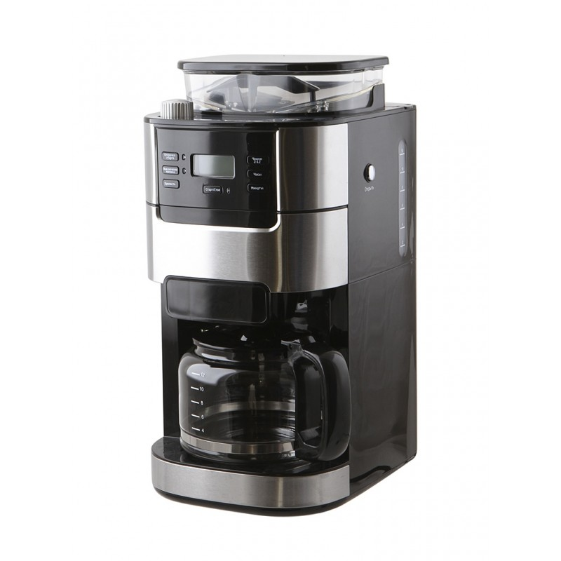 Кофеварка Kitfort KT-720 Black-Steel