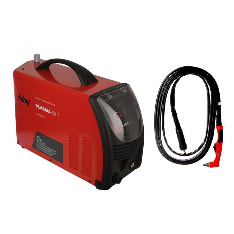 Инвертор для плазменной резки Fubag Plasma 65 T + плазменная горелка FB P60 6m 68 443.2
