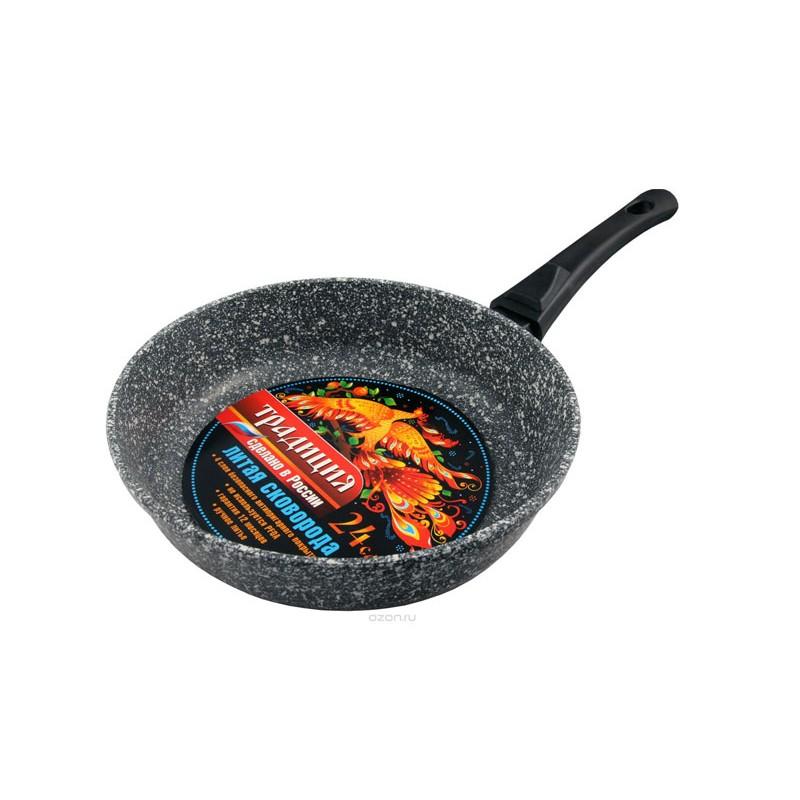Сковорода Традиция Мрамор 24cm ТМ2245