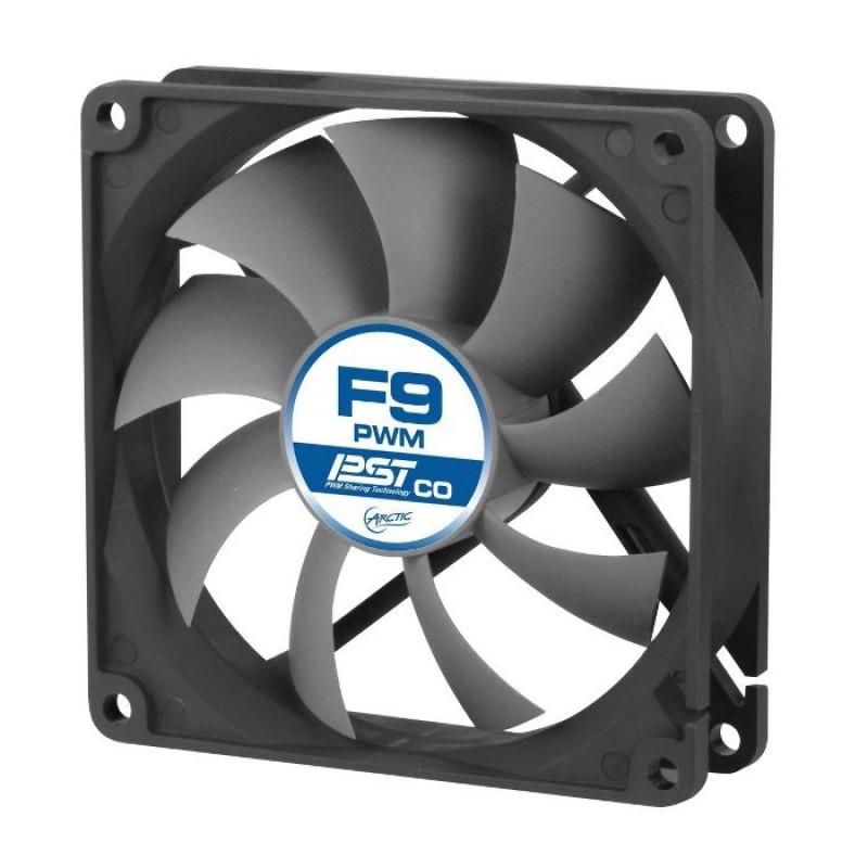 Вентилятор Arctic Cooling F9 PWM PST AFACO-090PC-GBA01