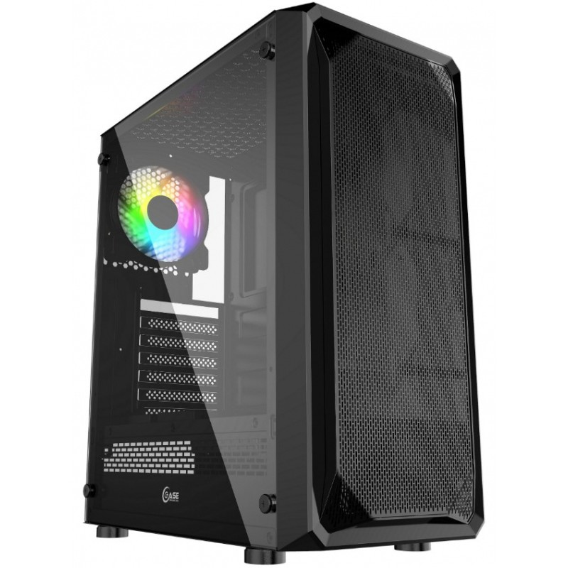 Корпус Powercase Mistral Z1 Mesh LED ATX Tempered Glass Black CMIZB-L1