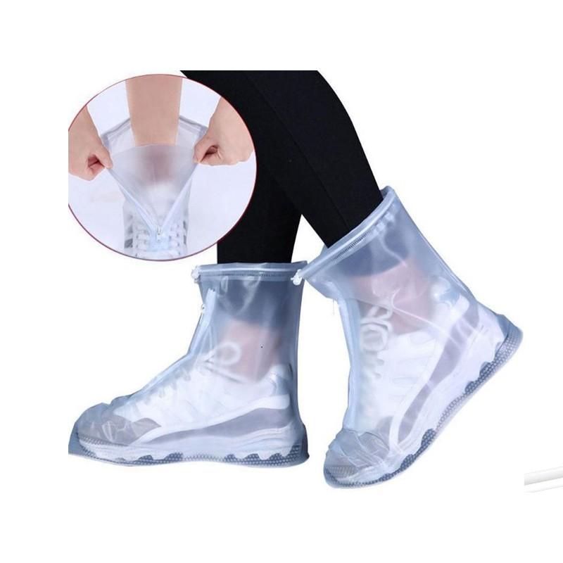 Чехлы защитные для обуви на замке ZDK 505 размер L White