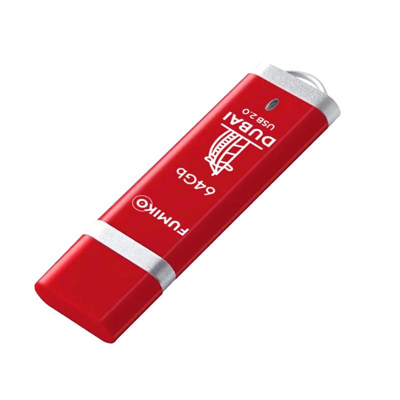 USB Flash Drive 64Gb - Fumiko Dubai USB 2.0 Red FU64DURED-01 / FDI-15